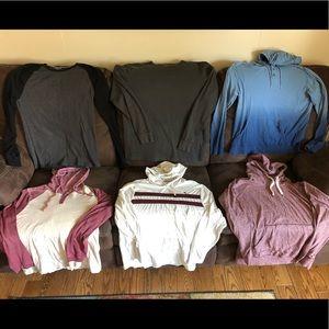 American Eagle Old Navy Men's Large Shirts EUC